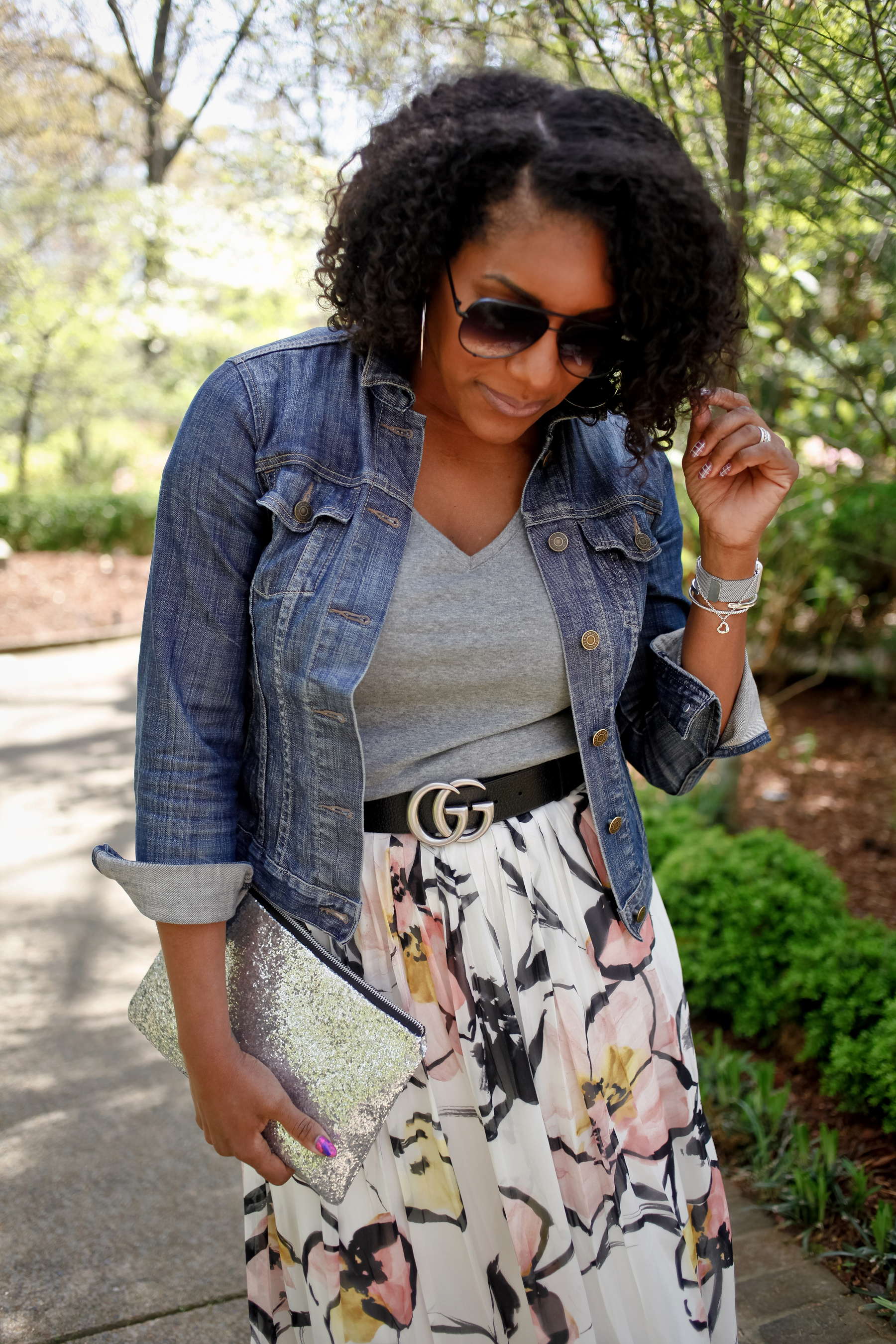 Floral-Skirt-Denim-Jacket-5