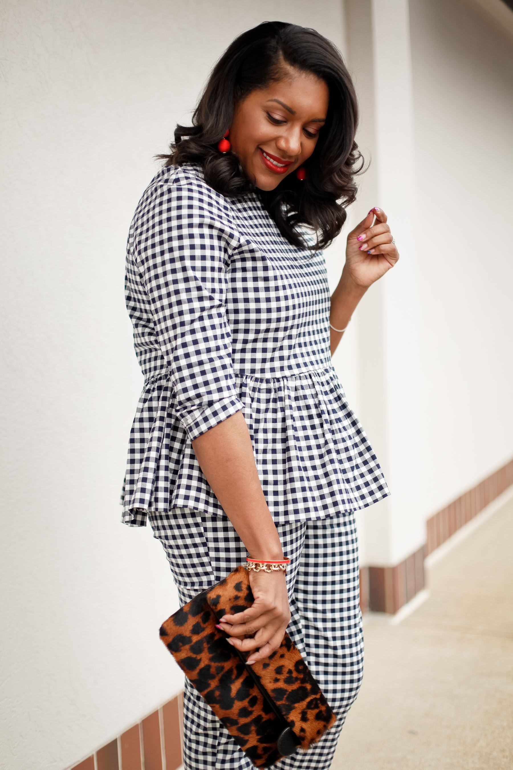 Gingham-Outfit-Red-Shoes-4