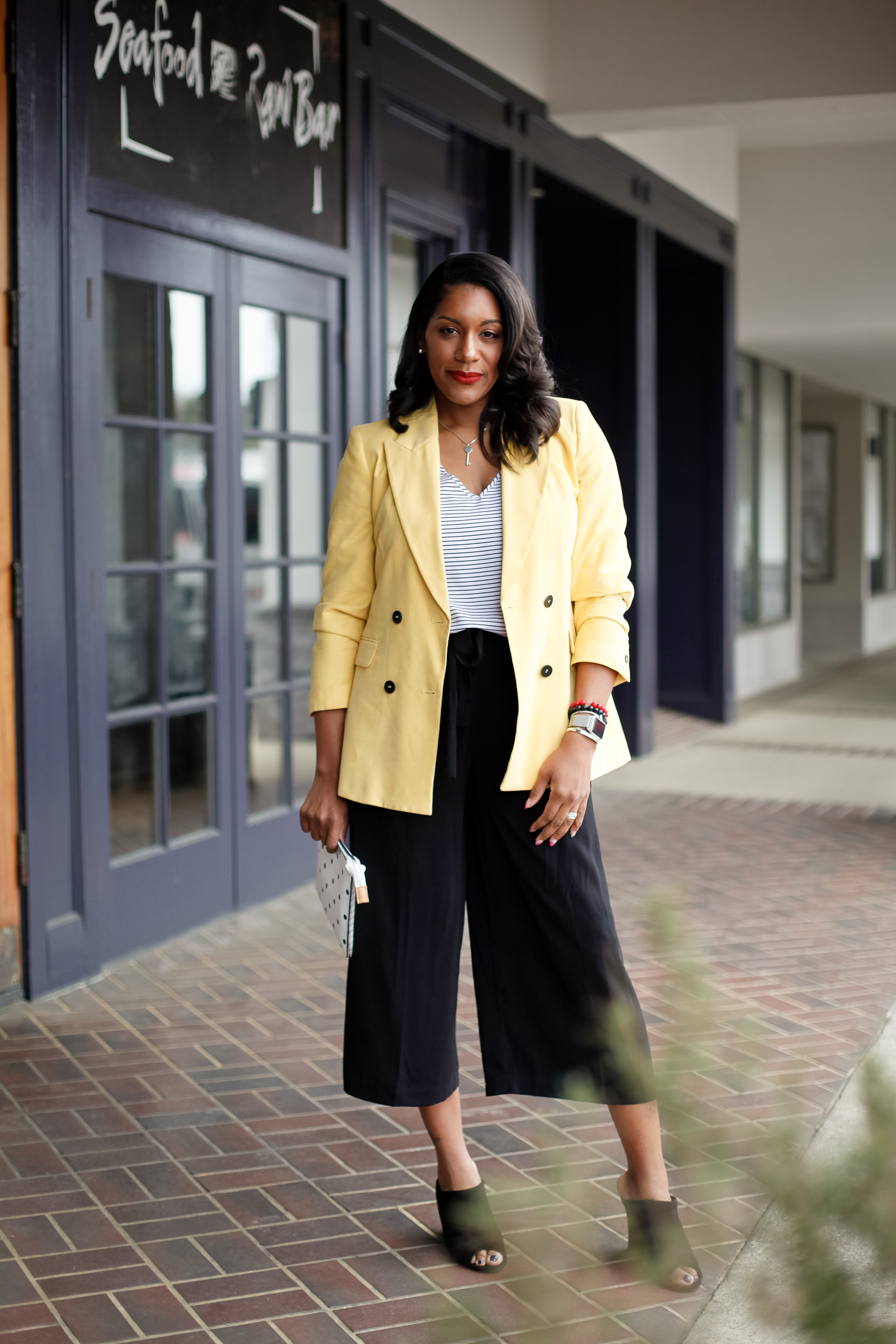 Yellow-Blazer-Black-Culottes-11