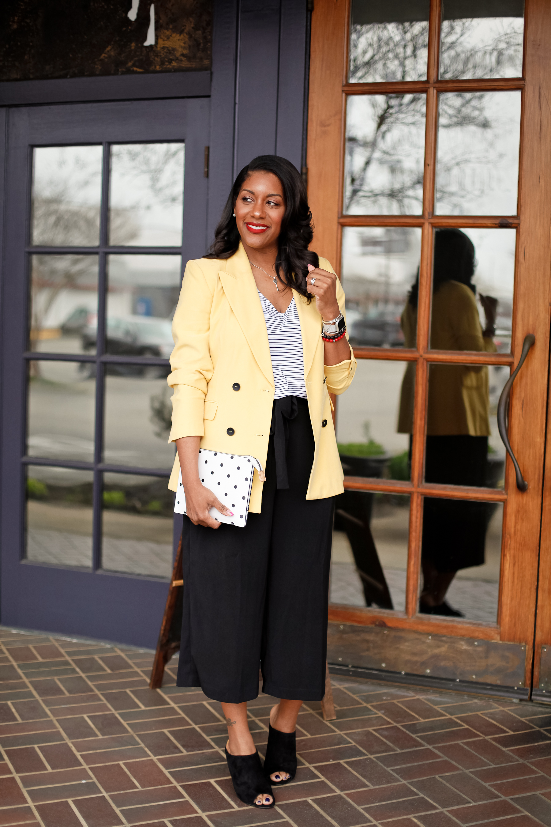 Yellow-Blazer-Black-Culottes-2