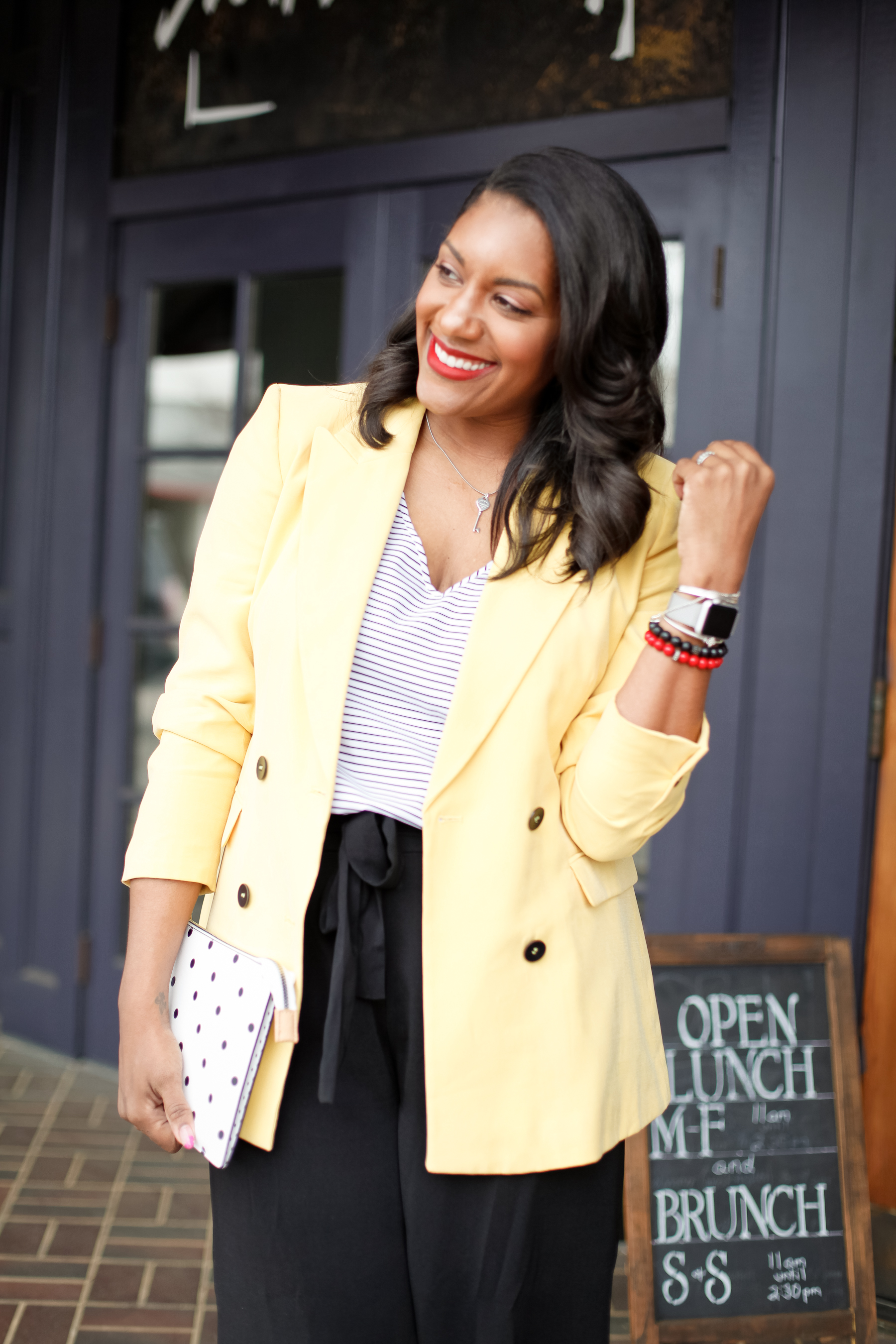 Yellow-Blazer-Black-Culottes-7