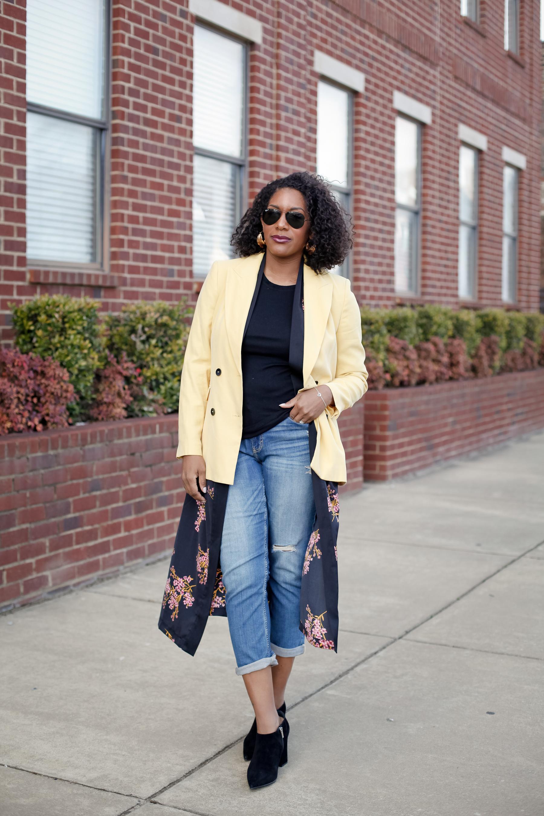 Yellow-Blazer-Floral-Kimono-1