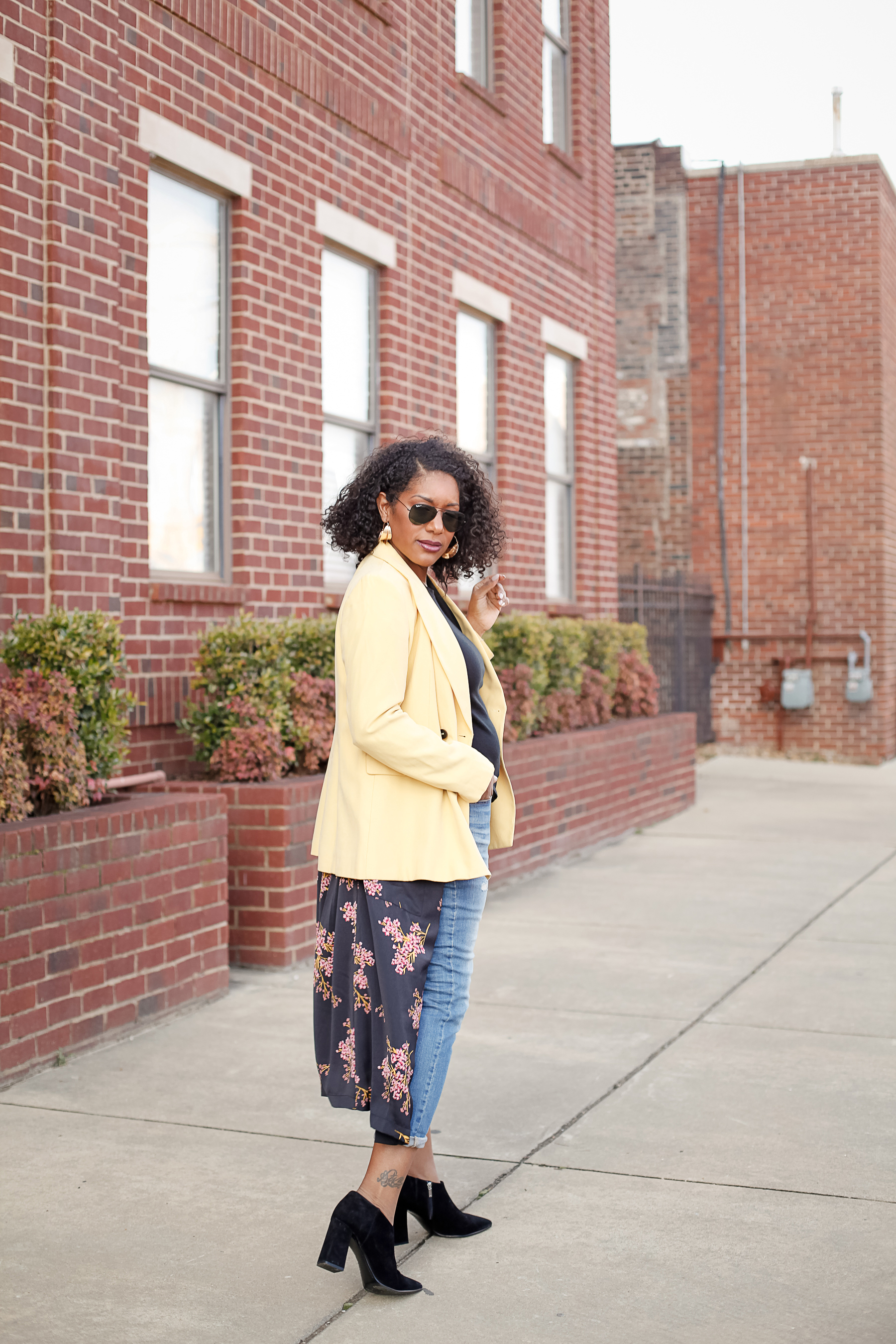 Yellow-Blazer-Floral-Kimono-15